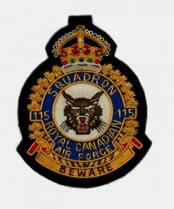 115 Beware Squadron Badge – Tiger ARMY patch