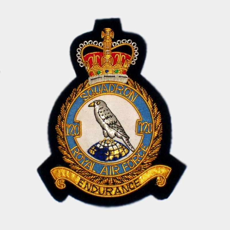 Squadron blazer badges embroidered royal air force raf