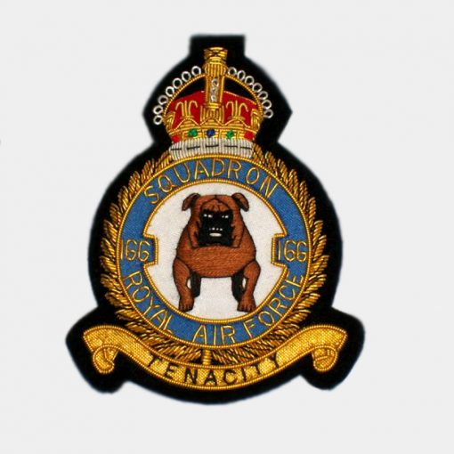 166 Squadron Blazer badge – Royal Canadian Air Force (RCAF)
