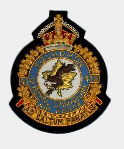 416 Tactical Fighter Squadron Blazer Crest royal patche
