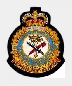 417 Combat Support Squadron Blazer Badge - RCAF