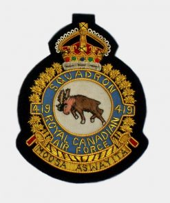 419 Tactical Fighter Training Squadron blazer badge - RCAF