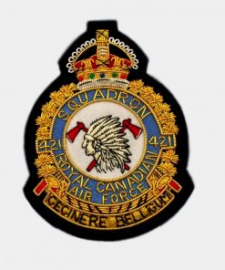 421 Squadron Blazer Badge – Royal Air Force ( RAF )