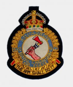 422 Tactical Helicopter Squadron Blazer Badges - RCAF