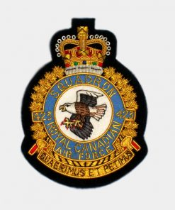 423 Squadron Blazer Badge – Eagle Canadian Patches (RCAF)