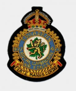 427 Squadron Blazer Badge – Royal Air Force ( RAF )