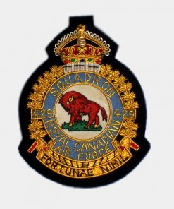 429 Transport Squadron Blazer Badge – Royal Canadian Air Force ( RCAF )