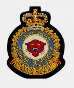 438 Squadron blazer Badge – Royal Canadian Air Force ( RCAF )