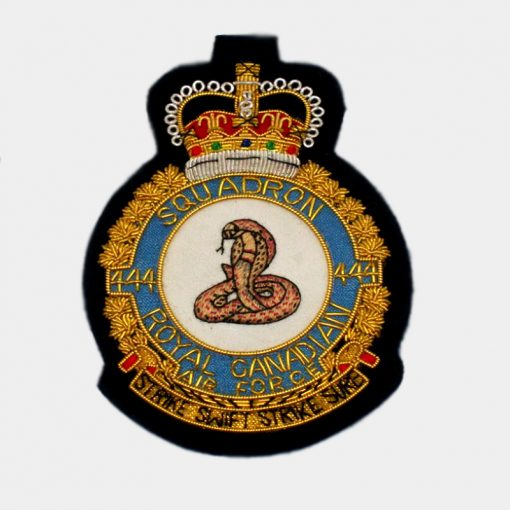 444 Combat Support Squadron Cobra Blazer Badge – RCAF
