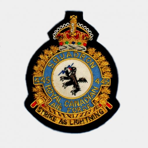445 Squadron Blazer Badge – Royal Canadian Air Force (RCAF)