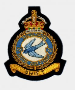 72 Squadron Blazer Badge – Royal Canadian Air Force (RCAF)