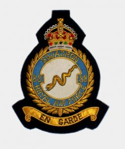88 Squadron Blazer badge – Royal Canadian Air Force (RCAF)