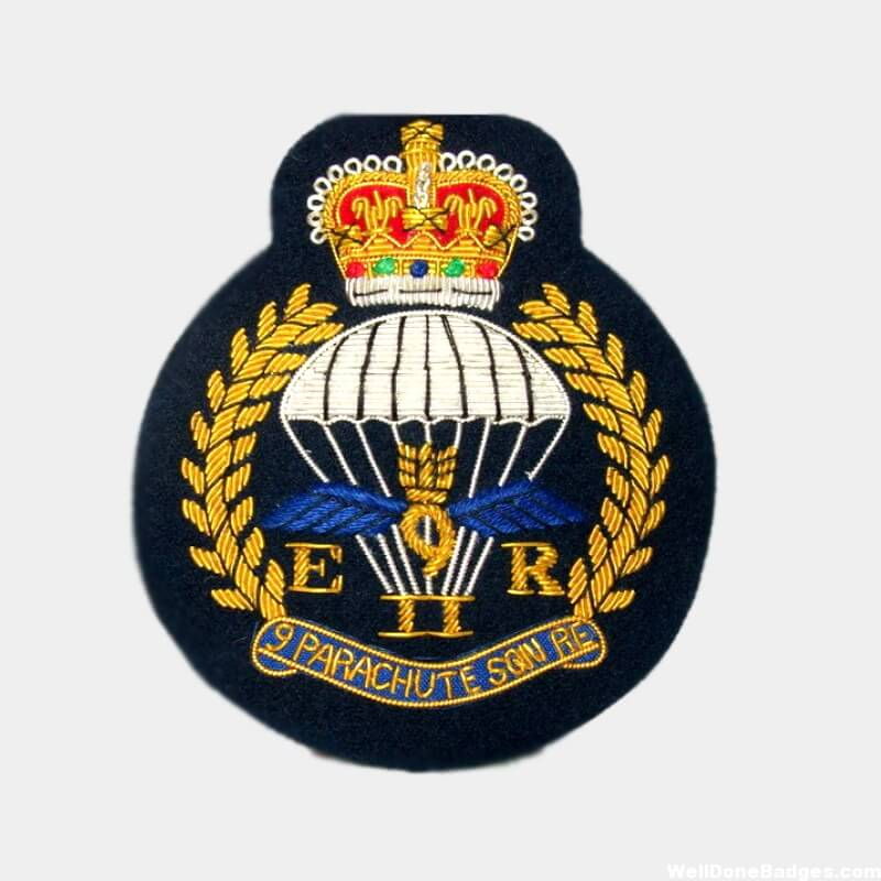 9 Parachute Squadron Royal Engineer Blazer Badge