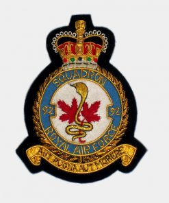 92 Squadron Blazer Badge – Royal Canadian Air Force (RCAF)