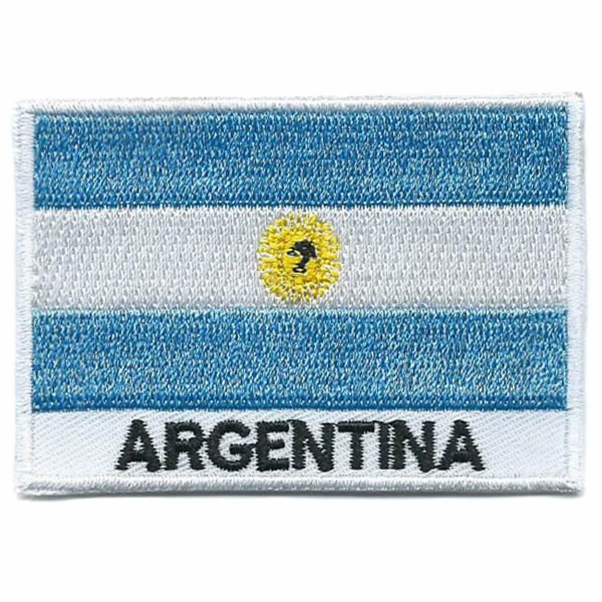 Argentina-Embroidered-Patches