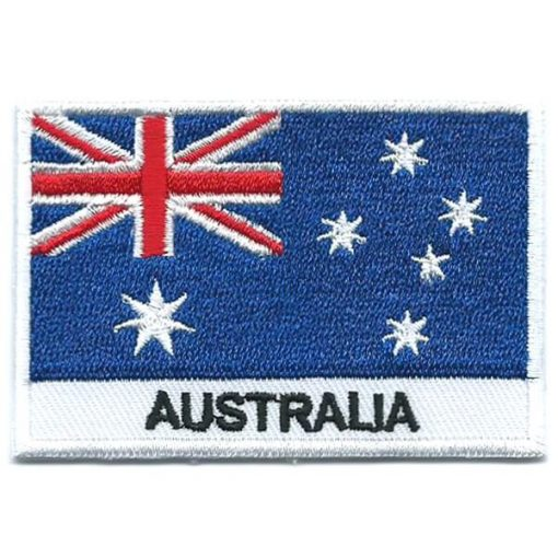 Aussie Embroidered Patches - Australian Flag