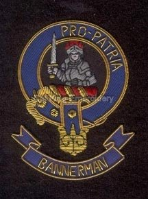 Bannerman clan crest badge - Pro-Patria