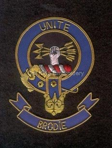 Brodie clan crest badge - Unit