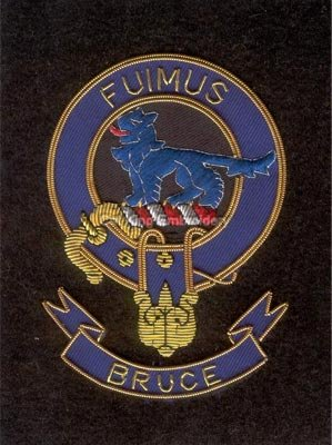 Bruce clan crest badge - Fuimus