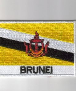 Brunei embroidered patches - country flag Brunei patches / iron Brunei on badges