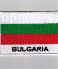 Bulgaria embroidered patches - country flag Bulgaria patches / iron Bulgaria on badges