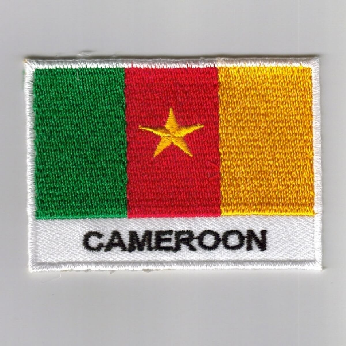 Cameroon Flag embroidered patches