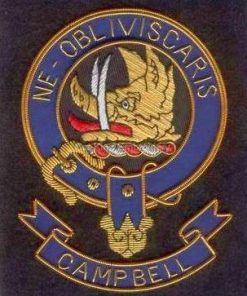 Campbell clan crest badge - Ne Obiviscaris