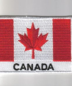 Canada embroidered patches - country flag Canada patches / iron Canada on badges