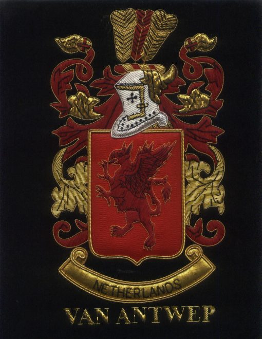 Van Antwep Family Crest /  Van Antwep Coat of arms