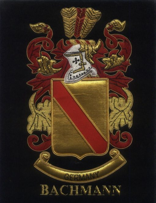 Bachmann Family Crest /  Bachmann Coat of arms