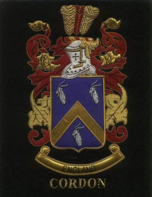 Cordon Family Crest /  Cordon Coat of arms