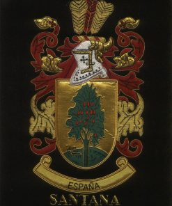 Santana Family Crest /  Santana Coat of arms