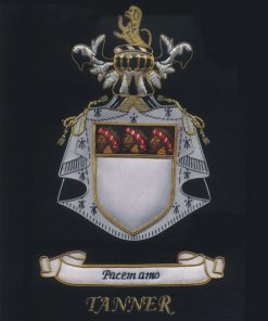 Tanner Family Crest /  Tanner Coat of arms