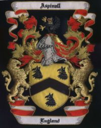England Family Crest /  England Coat of arms