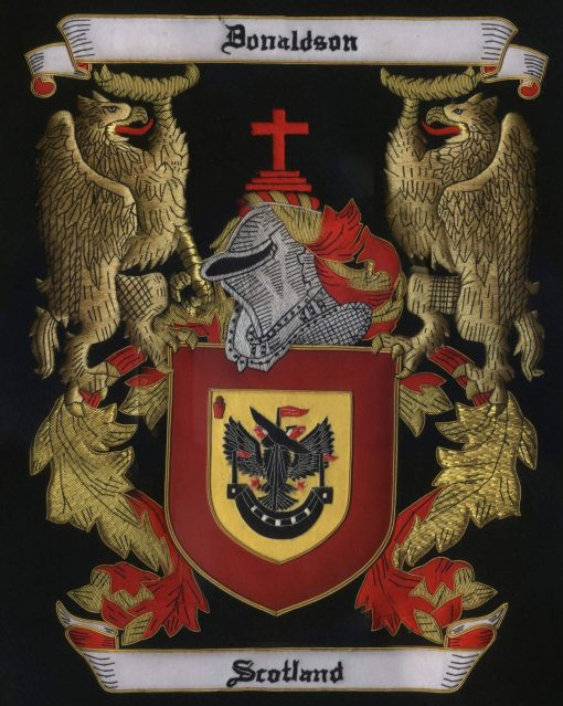 Scotland Family Crest /  Scotland Coat of arms