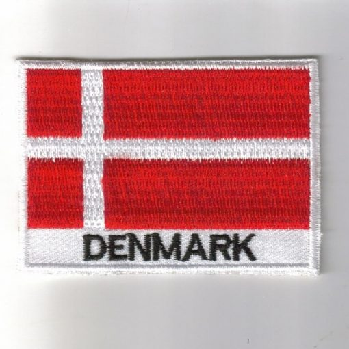 Denmark embroidered patches - country flag Chad patches / iron on badges