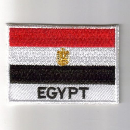 Egypt embroidered patches - country flag Egypt patches / iron on badges