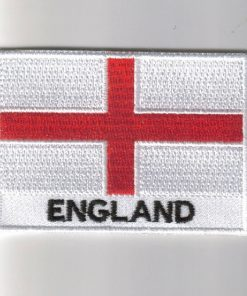 ESSEX England County Flag With Name Embroidered Iron On Sew On Patch For Clothes