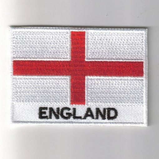 England embroidered patches - country flag England patches / iron on badges