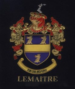 Lemaitre Family Crest /  Lemaitre Coat of arms