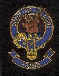Forbes clan crest badge- Grace Me Guide