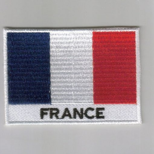 France embroidered patches - country flag France patches / iron on badges