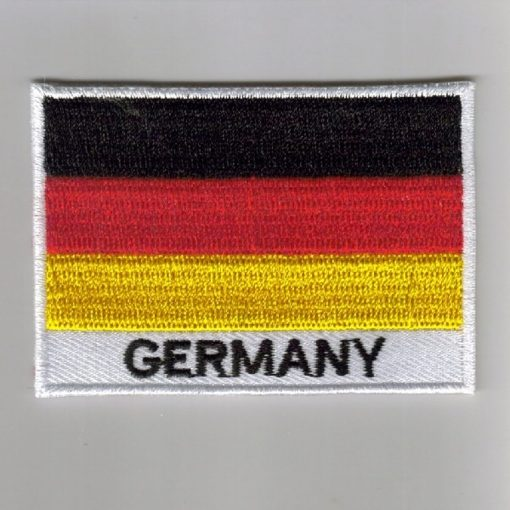 Germany embroidered patches - country flag Germany patches / iron on badges