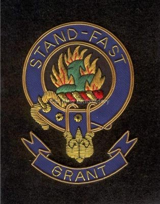 Grant clan crest badge- Stand Fast