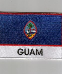 Guam embroidered patches - country flag Guam patches / iron on badges