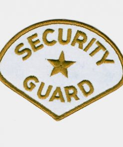 Security Embroidered Patches