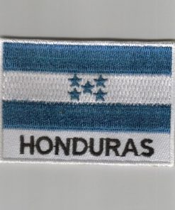 Honduras embroidered patches - country flag Honduras patches / iron on badges