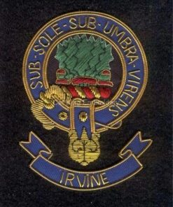 Ievine clan crest badge - Sub Sole Sub umbra Virens