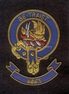 Innes clan crest badge - Be Traist