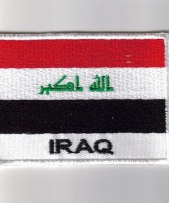 Iraq embroidered patches - country flag Iraq patches / iron on badges